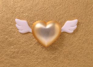 ハートの天使イメージの写真素材 [FYI03934927]
