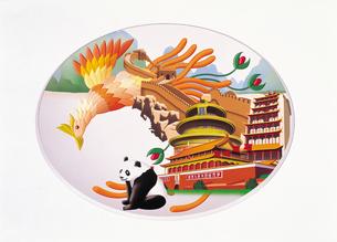 中国イメージイラストのイラスト素材 [FYI03935155]