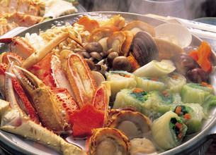 鍋料理の写真素材 [FYI03935616]