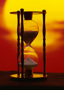 砂時計の写真素材 [FYI03937056]