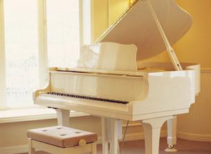 グランドピアノの写真素材 [FYI03937613]