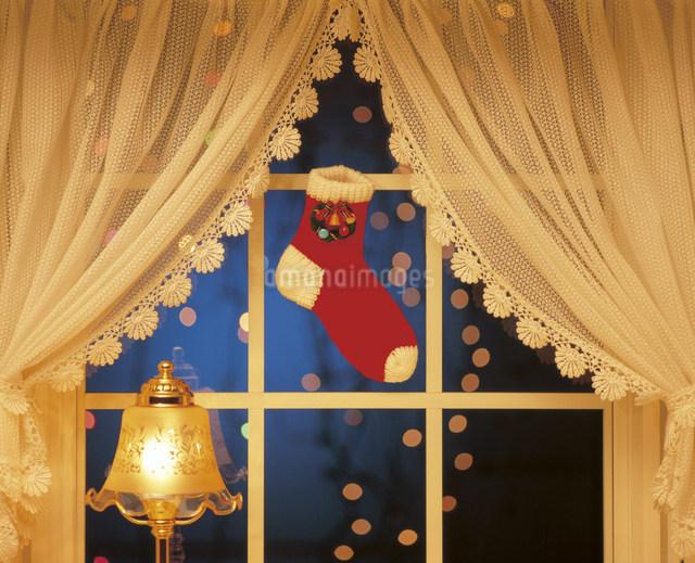 クリスマスデコレーションの写真素材 [FYI03937901]