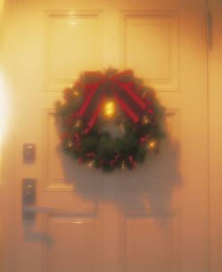 クリスマスリースの写真素材 [FYI03937905]