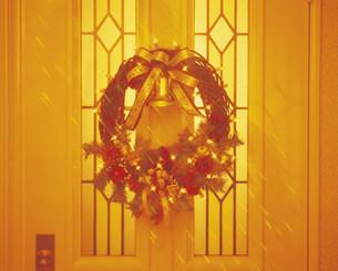クリスマスリースの写真素材 [FYI03938124]