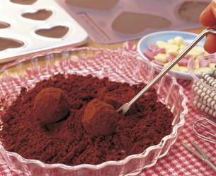 手作りチョコレートの写真素材 [FYI03938396]