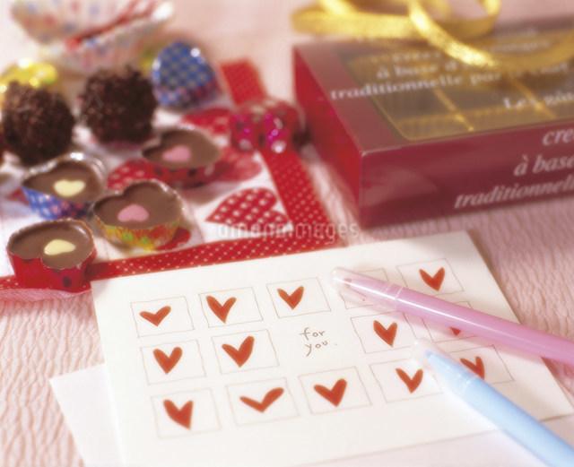 バレンタインデーイメージの写真素材 [FYI03938398]