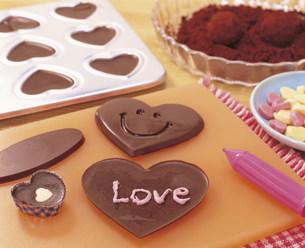 手作りチョコレートの写真素材 [FYI03938407]