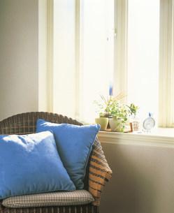 籐椅子の写真素材 [FYI03939393]