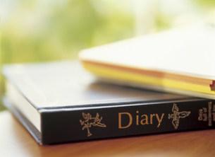 日記帳の写真素材 [FYI03939447]