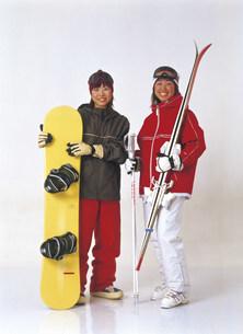 スキーウェアの写真素材 [FYI03940205]