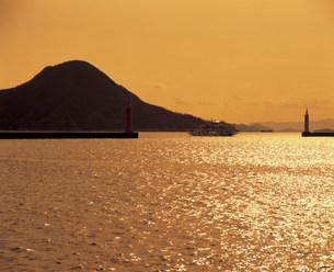 広島湾の写真素材 [FYI03940356]