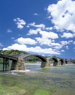 錦帯橋の写真素材 [FYI03940359]