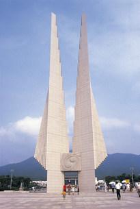 独立記念館の写真素材 [FYI03940422]