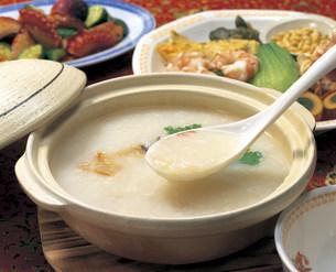 中華粥の写真素材 [FYI03941077]