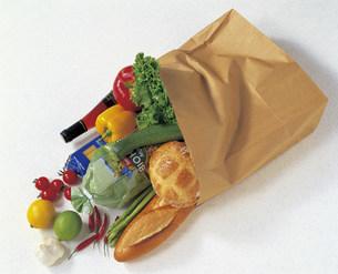 買い物袋の写真素材 [FYI03941131]