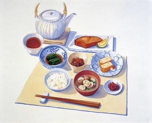 和朝食 イラストのイラスト素材 [FYI03941350]