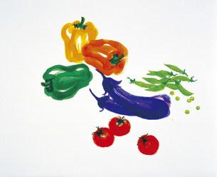 夏野菜 イラストのイラスト素材 [FYI03941377]