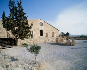 ネボ山の教会の写真素材 [FYI03943363]