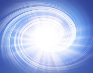 光と渦巻きの写真素材 [FYI03943617]