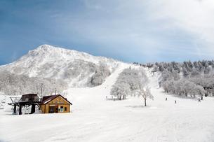 蔵王温泉スキー場パラダイスゲレンデの写真素材 [FYI03943936]