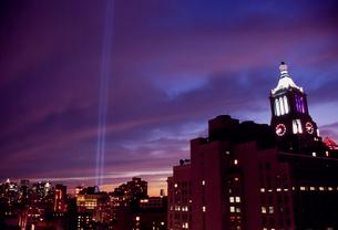 9.11記念日のメモリアル・ライトの写真素材 [FYI03944873]