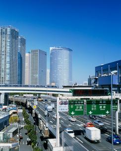 シオサイトと高速道路の写真素材 [FYI03944881]