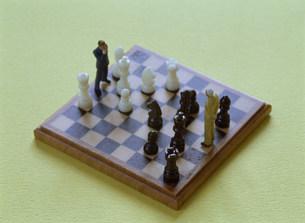ビジネスイメージ  チェスの写真素材 [FYI03944894]