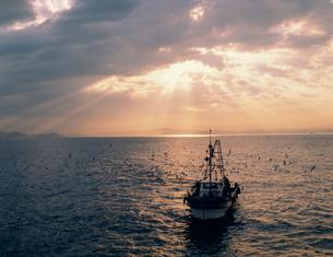 漁船の写真素材 [FYI03945035]