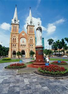 サイゴン大教会の写真素材 [FYI03945068]