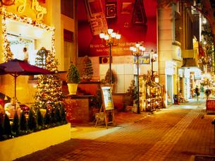 ドンコイ通りの夜景の写真素材 [FYI03945072]