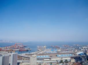 大連港の写真素材 [FYI03945079]