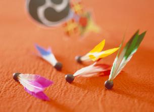 羽子板の羽根の写真素材 [FYI03945297]