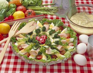 野菜サラダの写真素材 [FYI03945410]