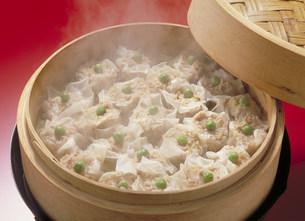 中華料理 しゅうまいの写真素材 [FYI03945939]