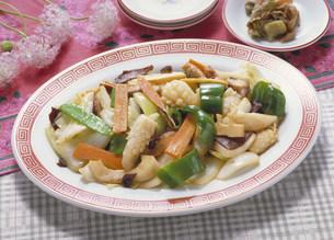 中華料理 野菜炒めの写真素材 [FYI03945944]