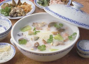 中華料理 中華粥の写真素材 [FYI03945945]
