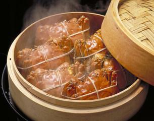 中華料理 上海がにの写真素材 [FYI03945948]