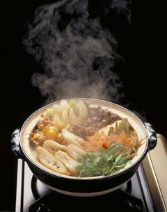 きりたんぽ鍋の写真素材 [FYI03946139]
