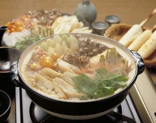 きりたんぽ鍋の写真素材 [FYI03946144]