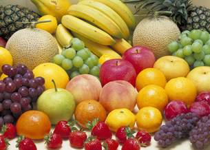 果物の集合の写真素材 [FYI03946418]
