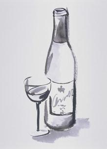 イラスト  ワインのイラスト素材 [FYI03946576]