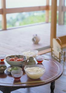 食卓イメージ(そうめん)の写真素材 [FYI03946747]