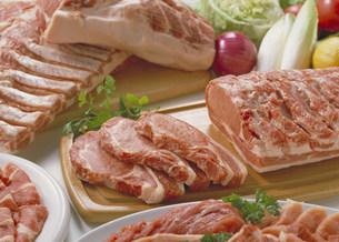 豚肉集合の写真素材 [FYI03947090]