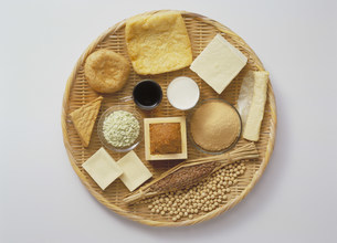 大豆製品の写真素材 [FYI03947155]