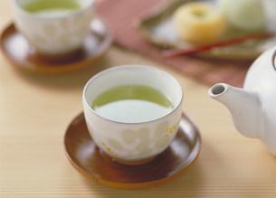 日本茶の写真素材 [FYI03947216]