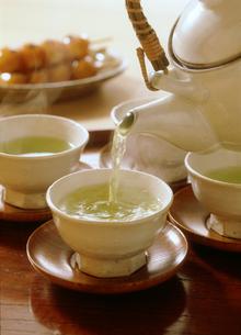 緑茶の写真素材 [FYI03947492]