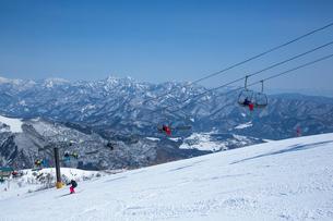 スキー場の写真素材 [FYI03948384]