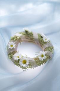 花リースの写真素材 [FYI03950181]
