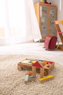 子供部屋のおもちゃの写真素材 [FYI03951652]