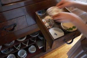 食器棚の写真素材 [FYI03951774]